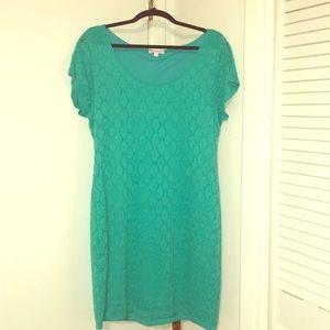 Spring Green Dress